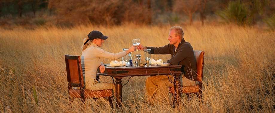 Luxury safari